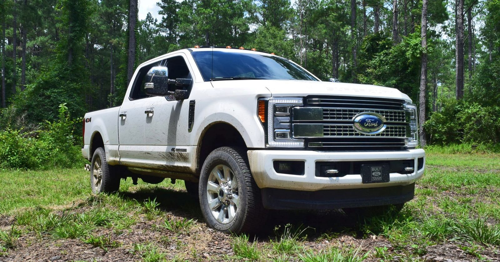2017 ford f 250 super duty 6 7l platinum road test review w videos. Black Bedroom Furniture Sets. Home Design Ideas
