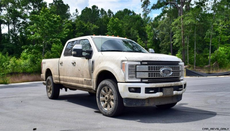 2017 Ford F-250 Super Duty Platinum White Exteriors 43