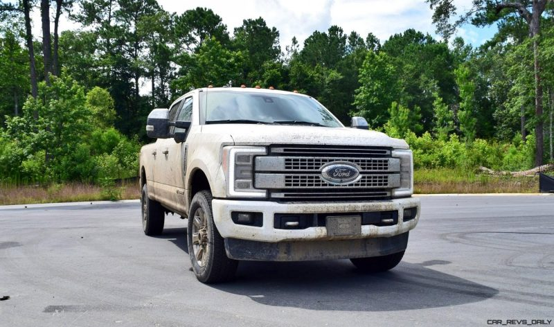2017 Ford F-250 Super Duty Platinum White Exteriors 44