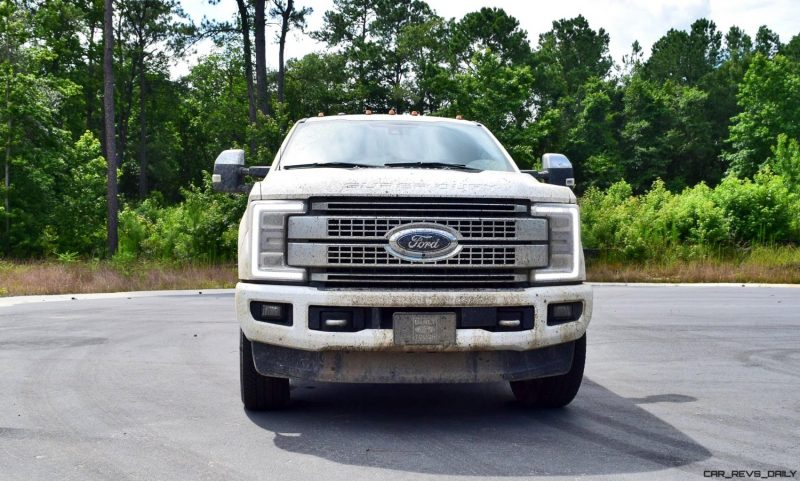 2017 Ford F-250 Super Duty Platinum White Exteriors 45