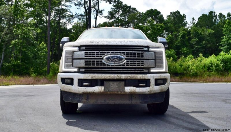 2017 Ford F-250 Super Duty Platinum White Exteriors 46