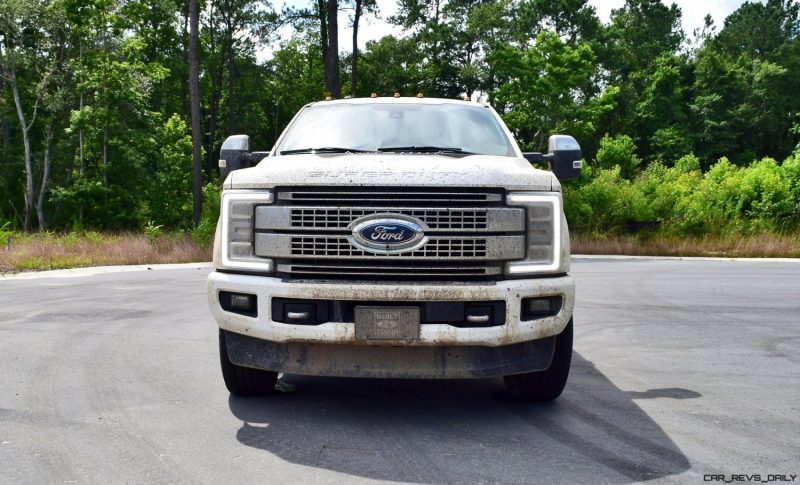 2017 Ford F-250 Super Duty Platinum White Exteriors 47