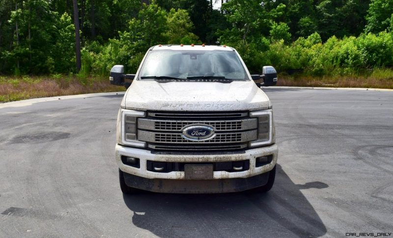 2017 Ford F-250 Super Duty Platinum White Exteriors 48