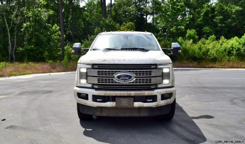 2017 Ford F-250 Super Duty Platinum White Exteriors 49