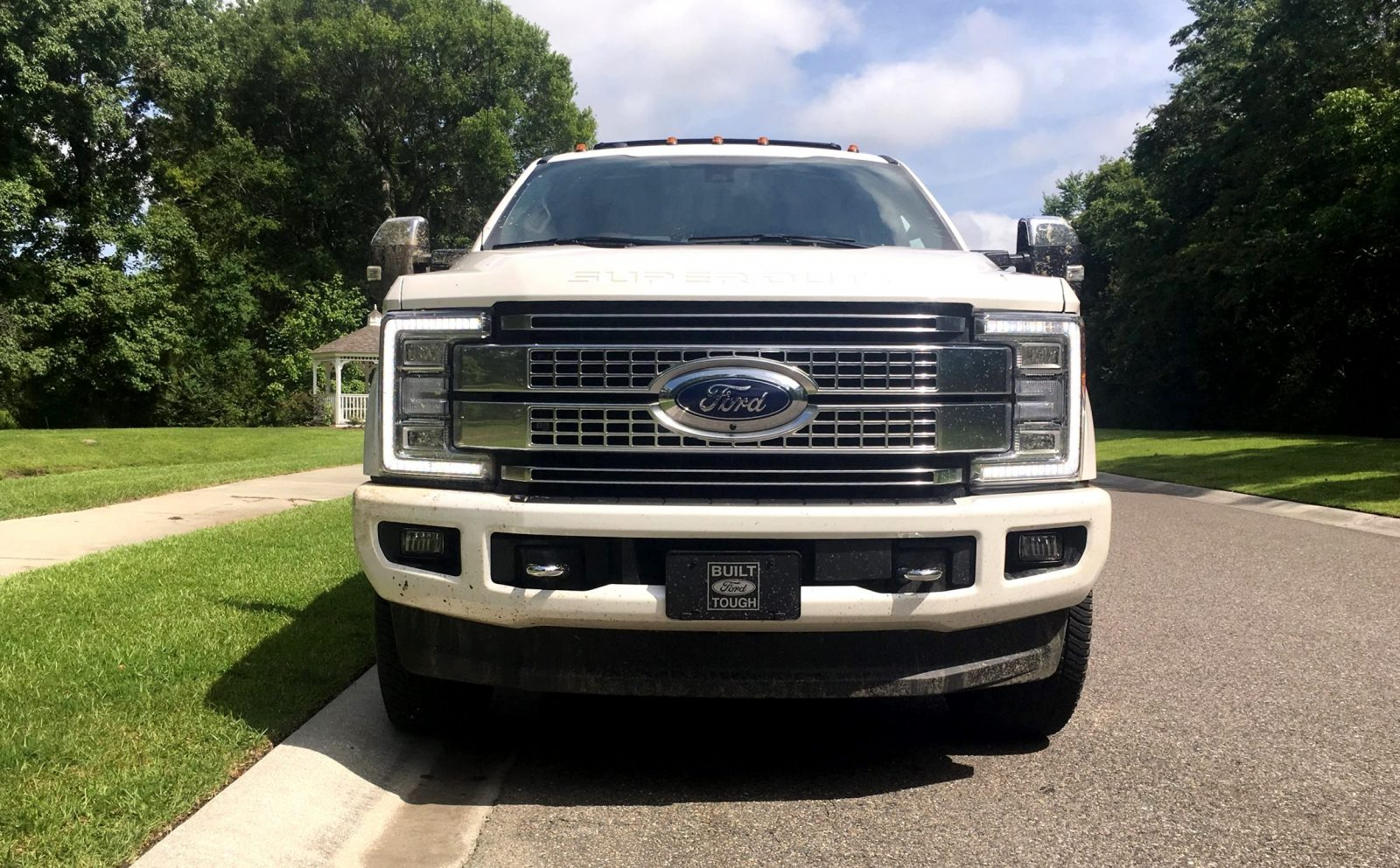 2017 ford f 250 super duty platinum white exteriors 64. Black Bedroom Furniture Sets. Home Design Ideas