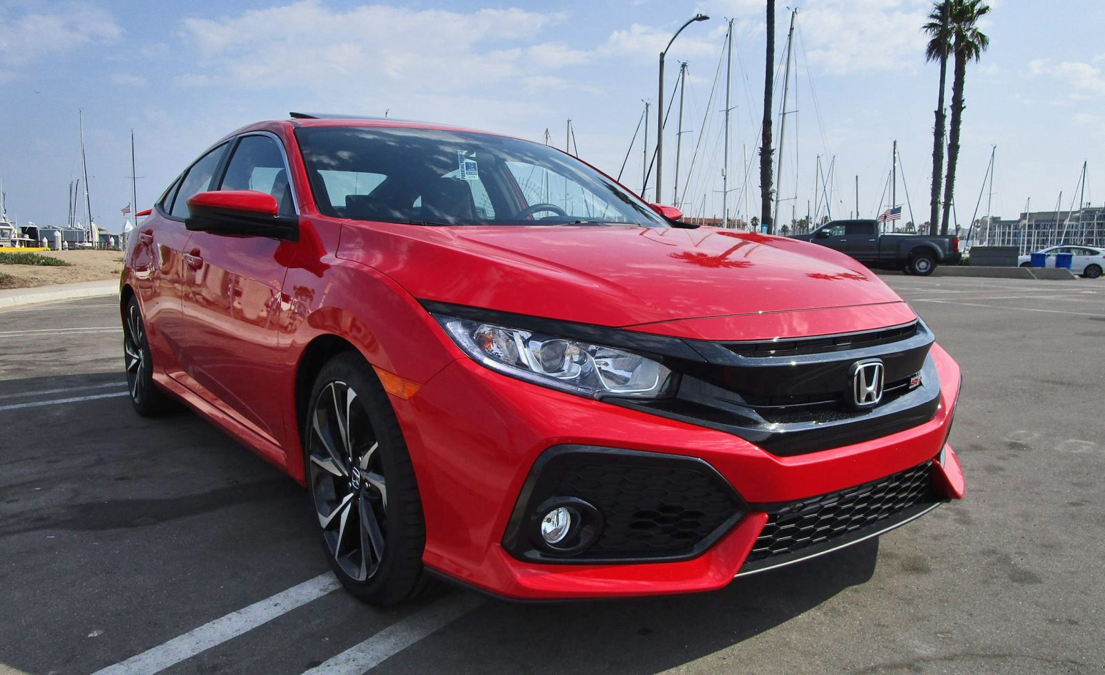 2017 Honda Civic Si Sedan 10