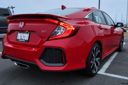 2017 Honda Civic Si Sedan Road Test Review By Ben Lewis Car Revs Daily Com