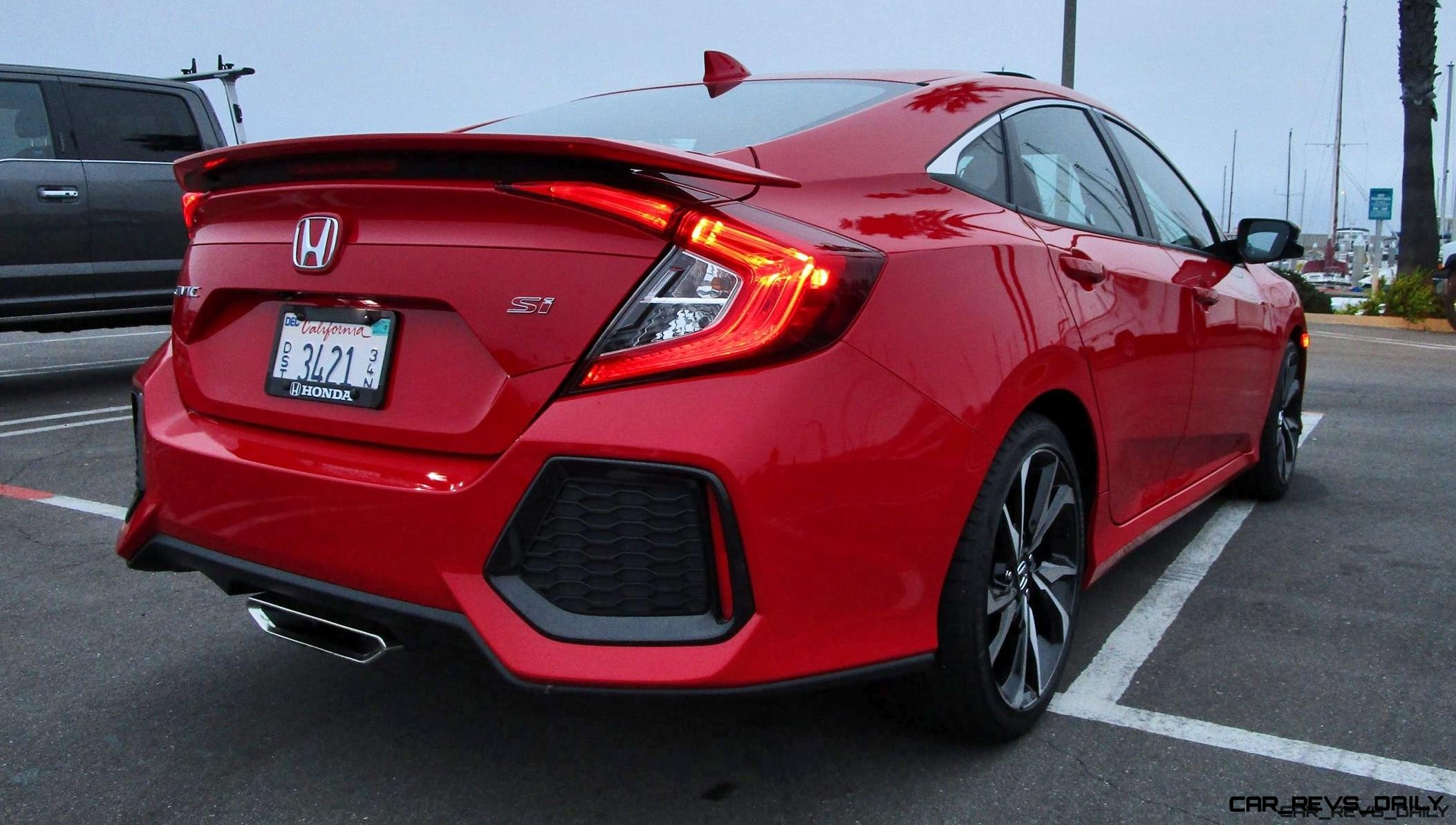 2017 Honda Civic Si Sedan Road Test Review By Ben Lewis
