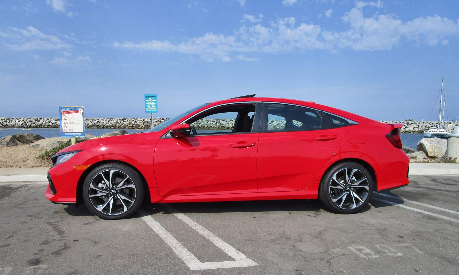 2017 Honda Civic Si Sedan 9