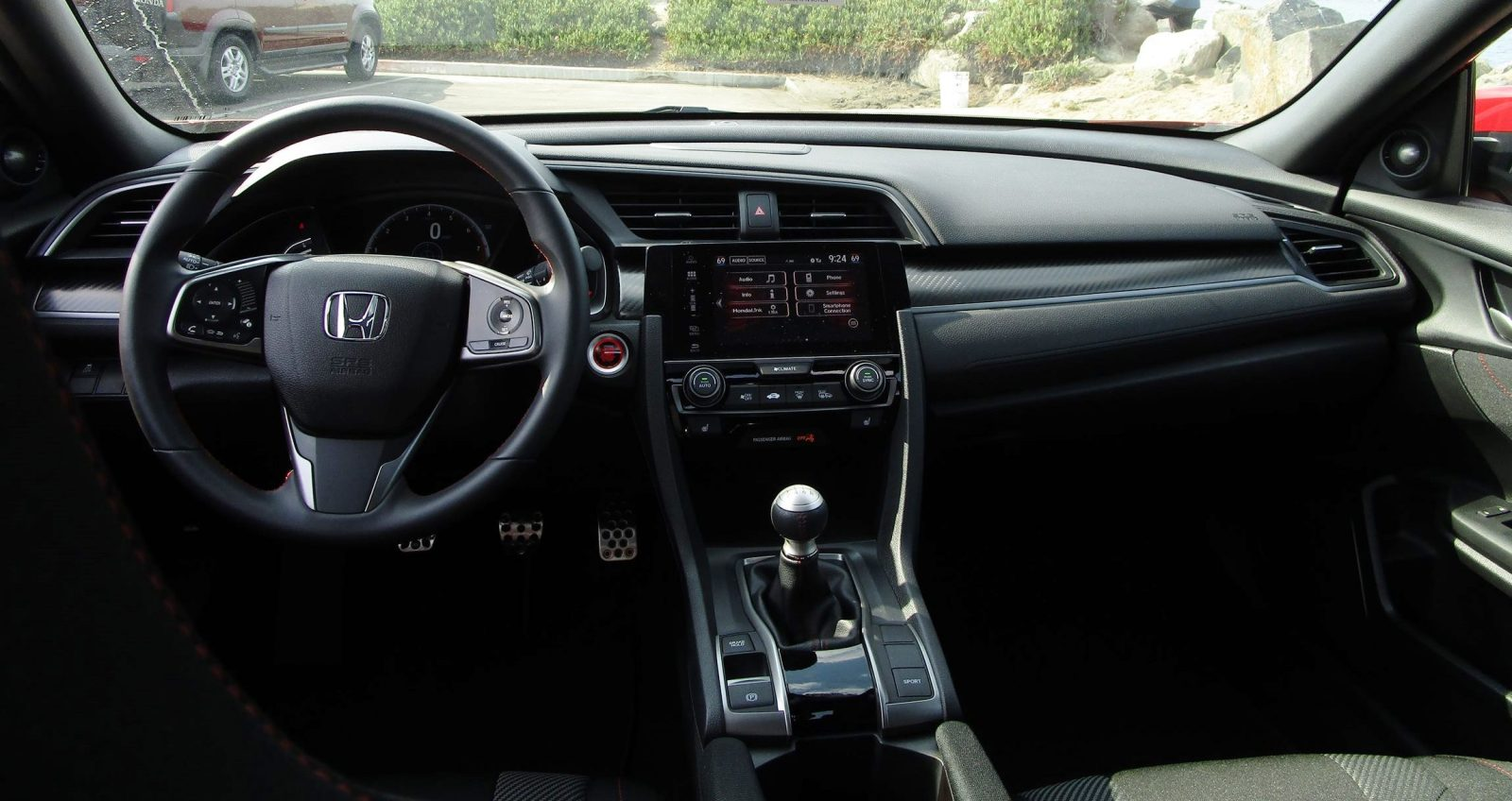 2017 honda civic si sedan interiors 17. Black Bedroom Furniture Sets. Home Design Ideas