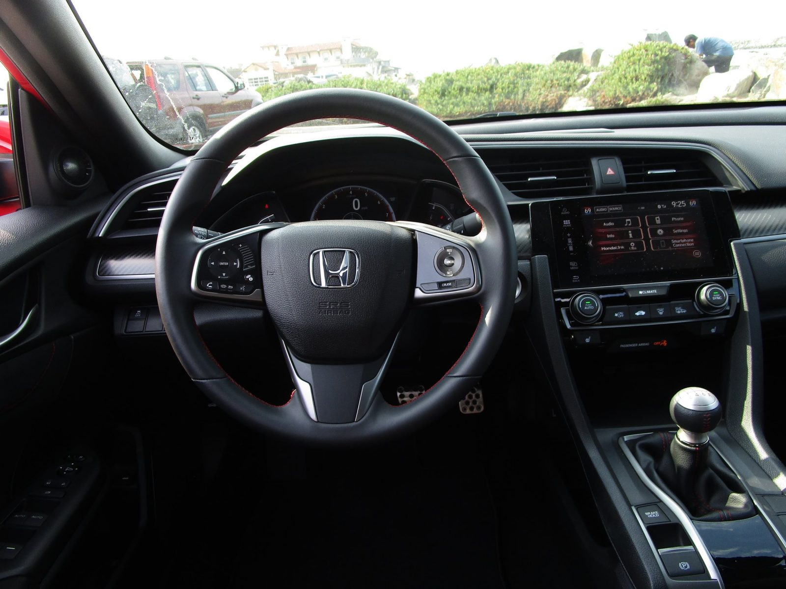 2017 Honda Civic Si Sedan INTERIORS 17
