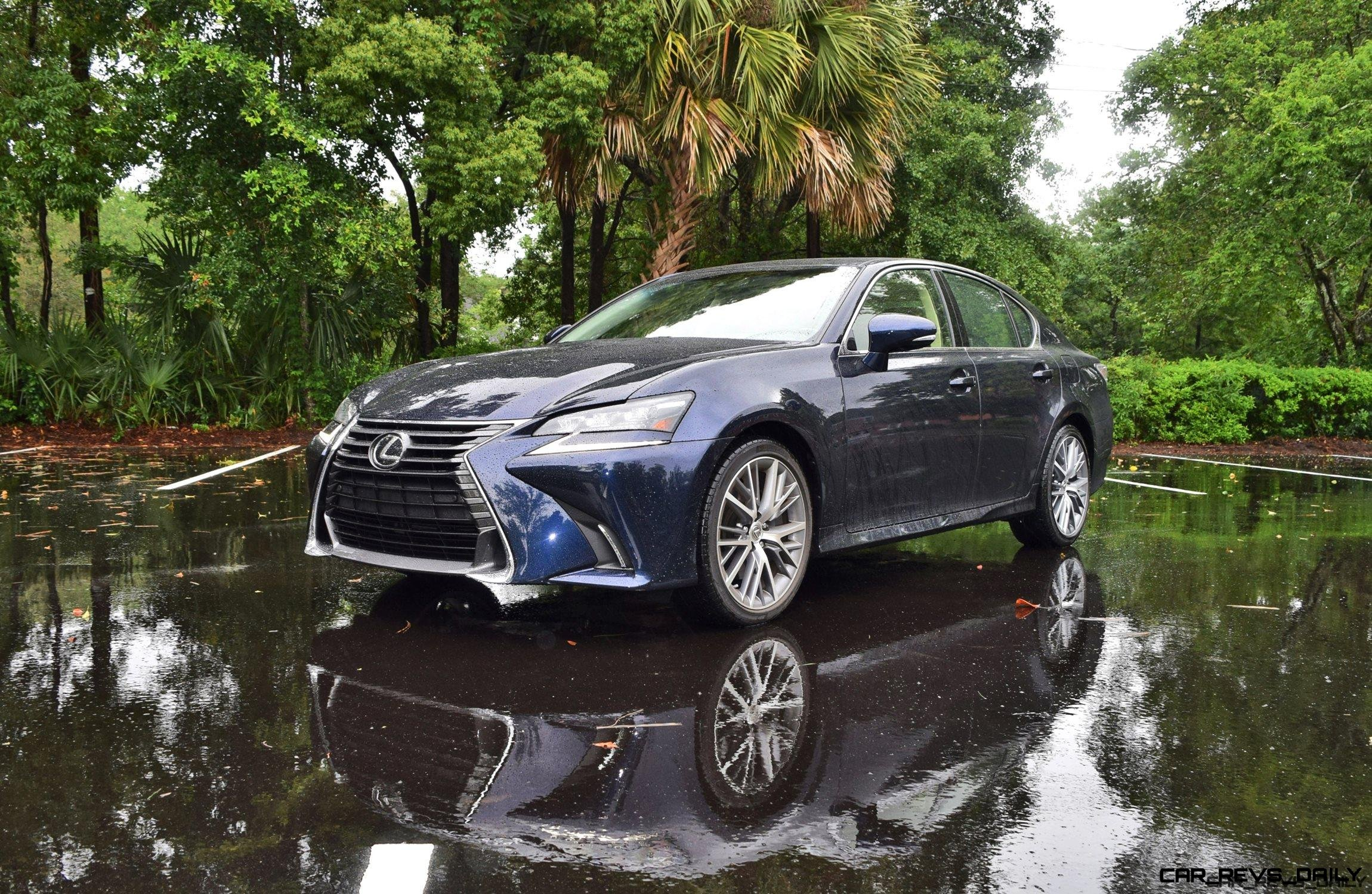 2017 lexus gs350 rwd luxury road test review drive video. Black Bedroom Furniture Sets. Home Design Ideas