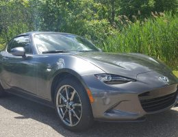 Road Test Review – 2017 Mazda MX-5 RF Grand Touring (6MT) + 2 videos – By Carl Malek