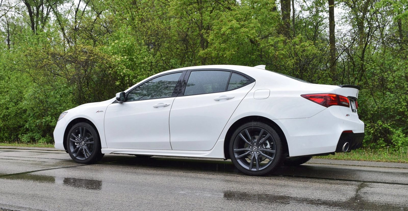 2018 acura tlx a spec sh awd first drive video 42 photo flyaround. Black Bedroom Furniture Sets. Home Design Ideas