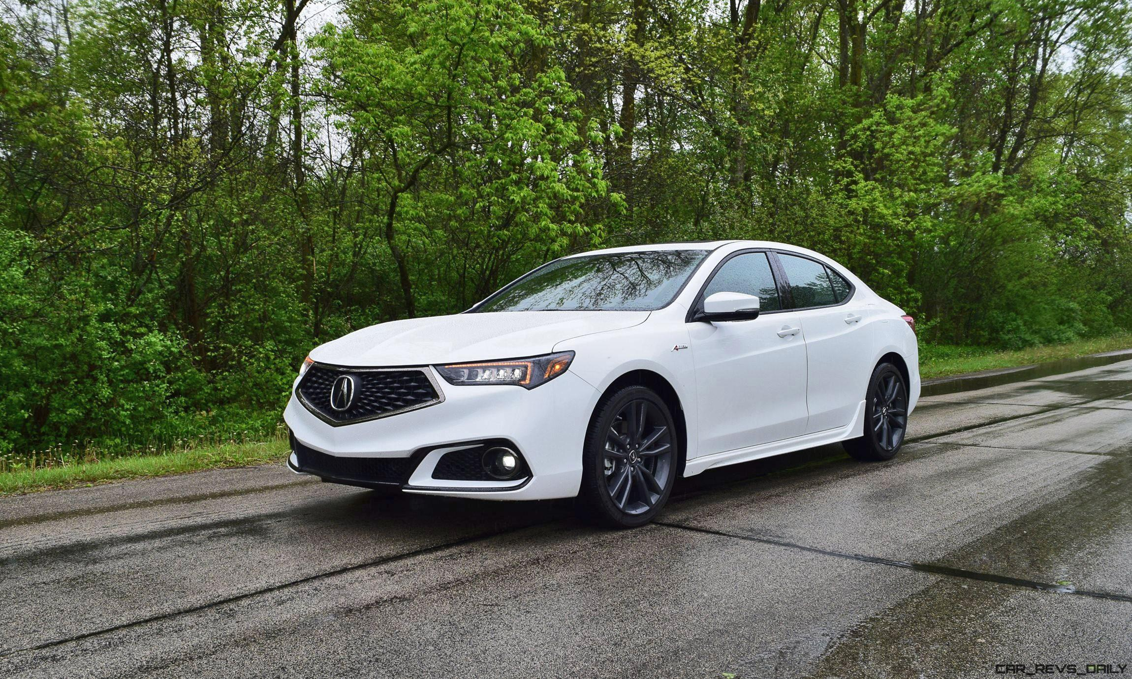 2018 Acura Tlx A Spec Sh Awd First Drive Video 42