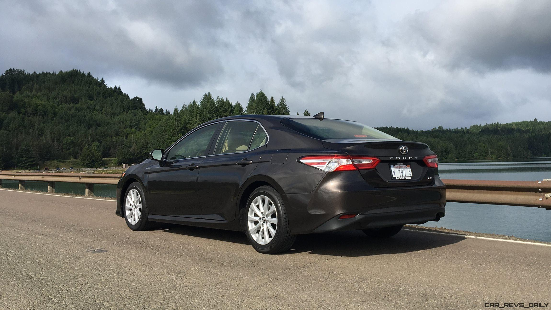 2018 Toyota Camry LE By Zeid Nasser 4