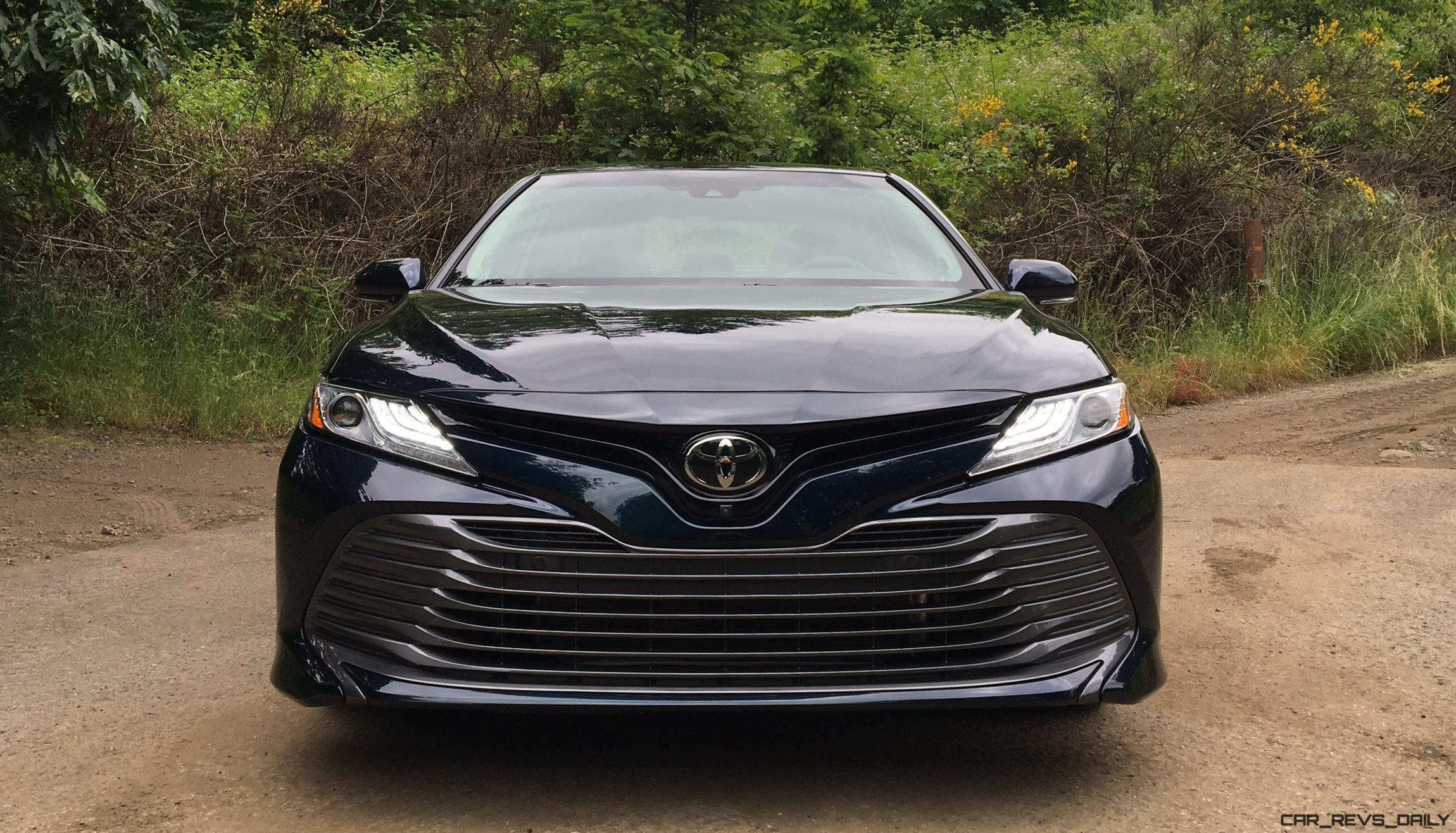 2018 Toyota Camry First Drives Of Le Xle And Xse By