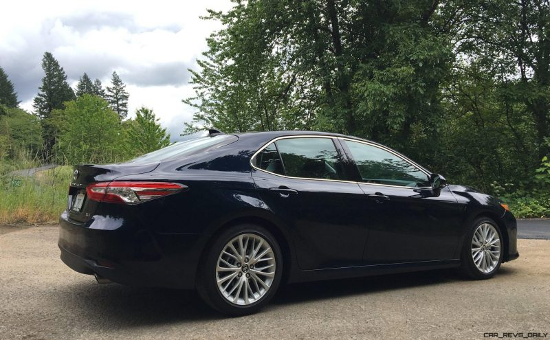 2017 Camry Xse >> 2018 Toyota CAMRY - First Drives of LE, XLE and XSE - By ...