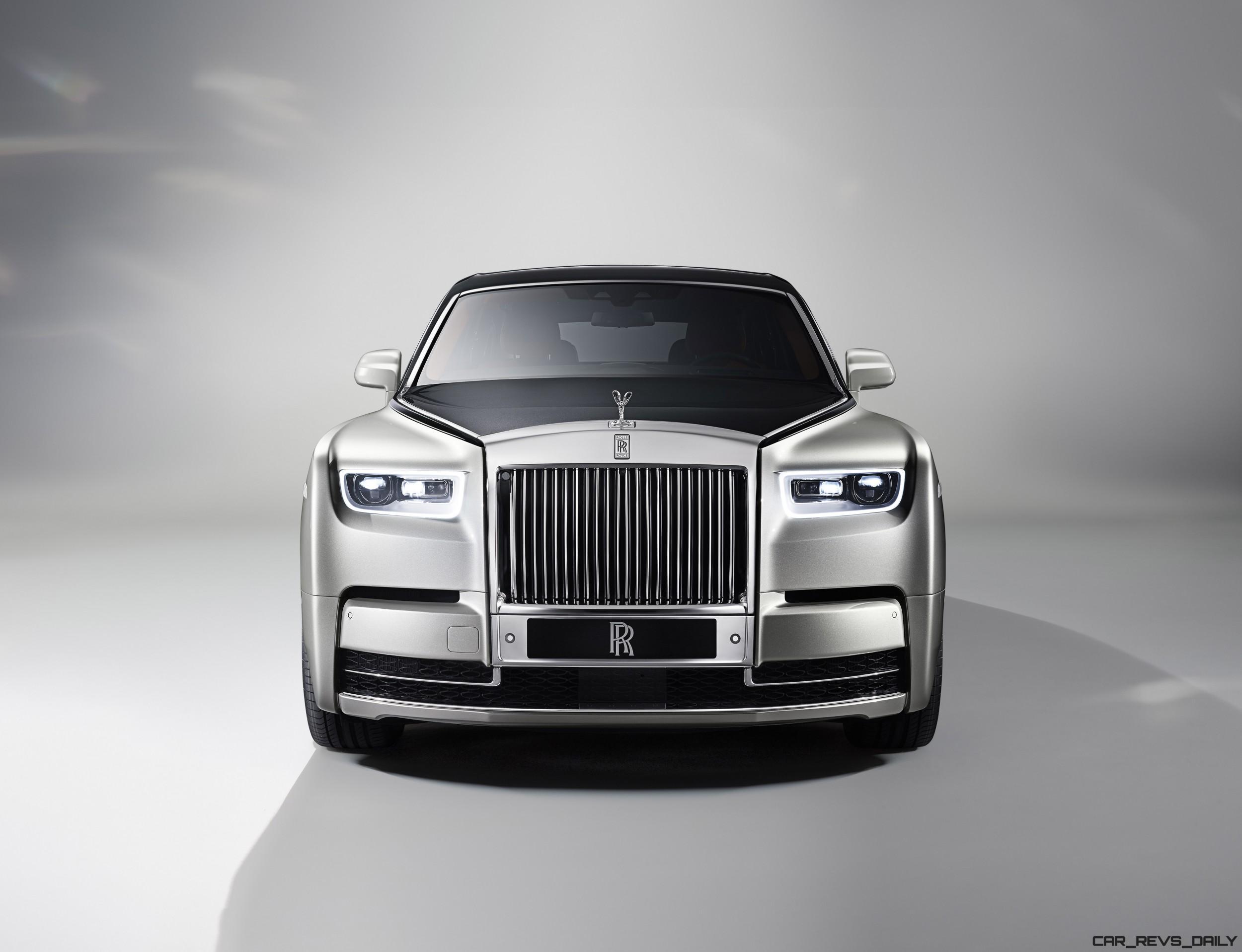 2018 Rolls-Royce PHANTOM 8 Revealed - Video and 30-Photo ...