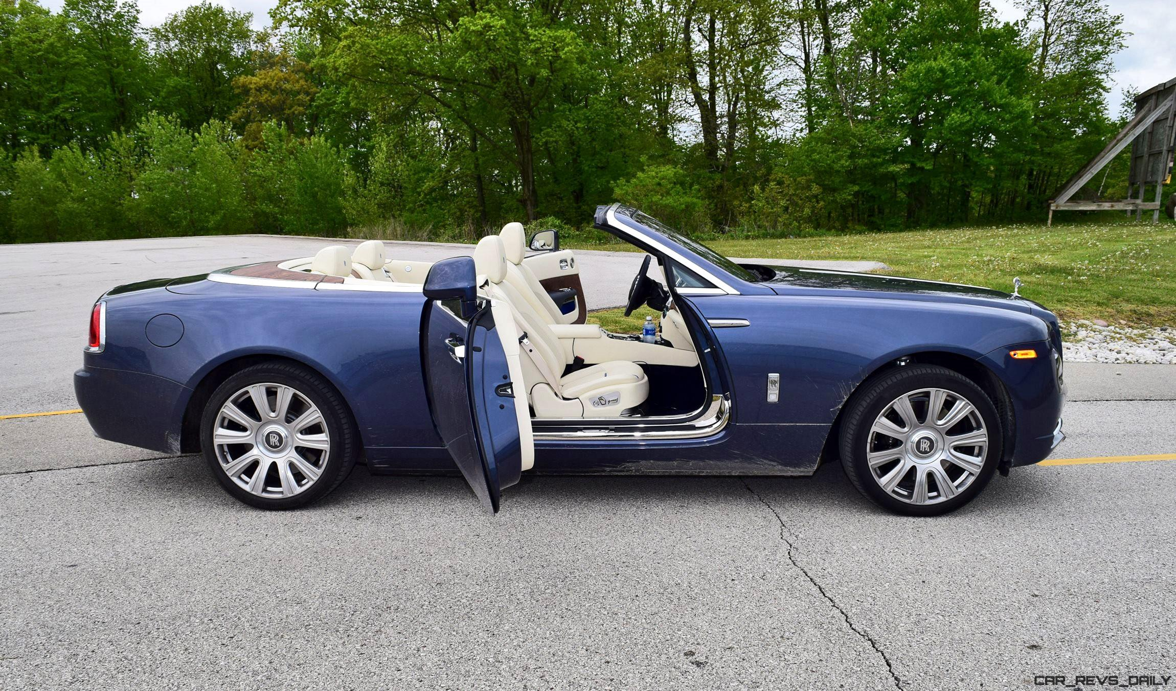 Beautiful 2017 RollsRoyce DAWN  First Drive Review  Video