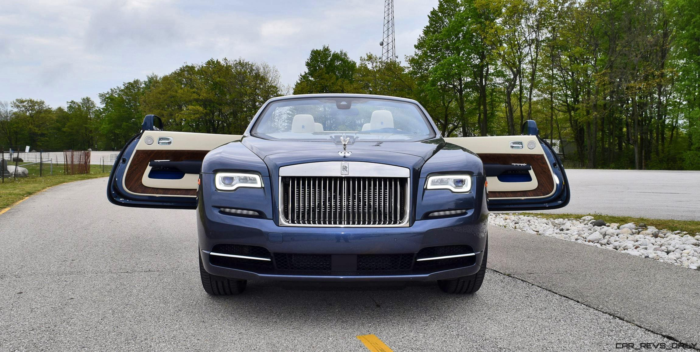 Lastest 2017 RollsRoyce DAWN  First Drive Review  Video