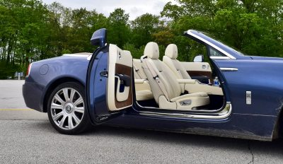 Rolls Royce Dawn INTERIORS 1