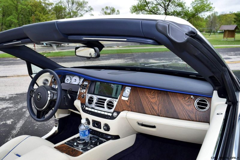 Rolls Royce Dawn INTERIORS 15