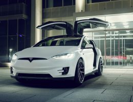 Novitec Debuts Tesla Model X Stage One Bodykit, Vossen 22s and CCBs