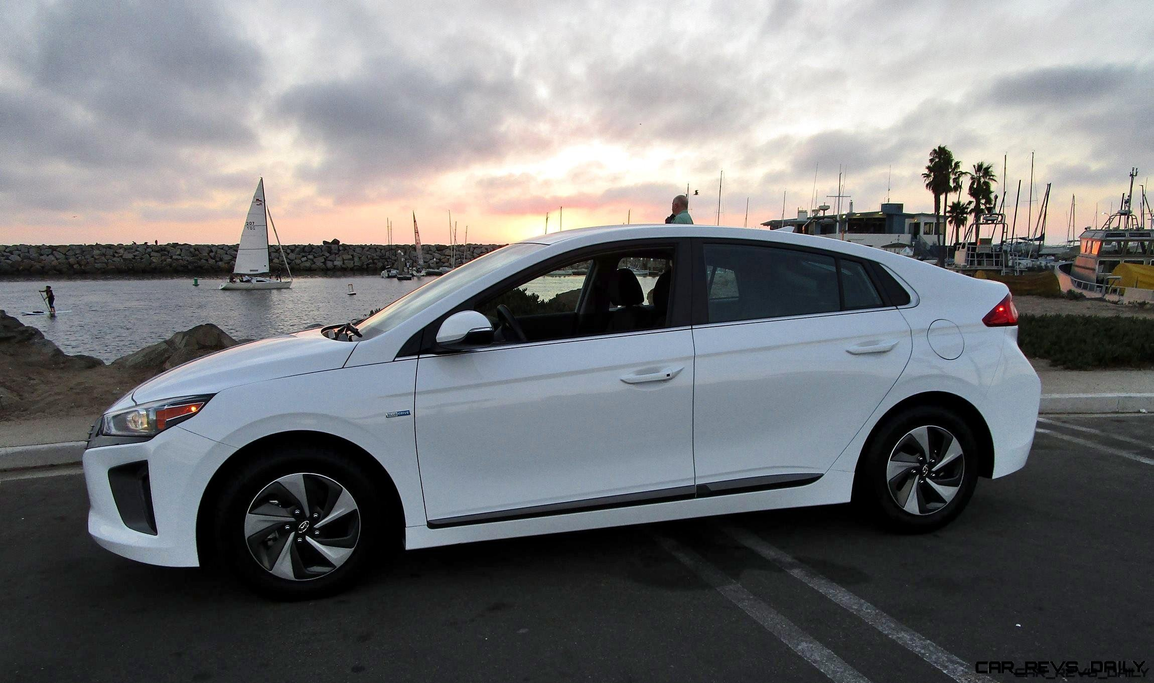 2017 Hyundai Ioniq Hybrid Sel Road Test Review By Ben Lewis