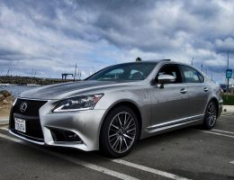 2017 Lexus LS460 F Sport – Road Test Review – By Ben Lewis