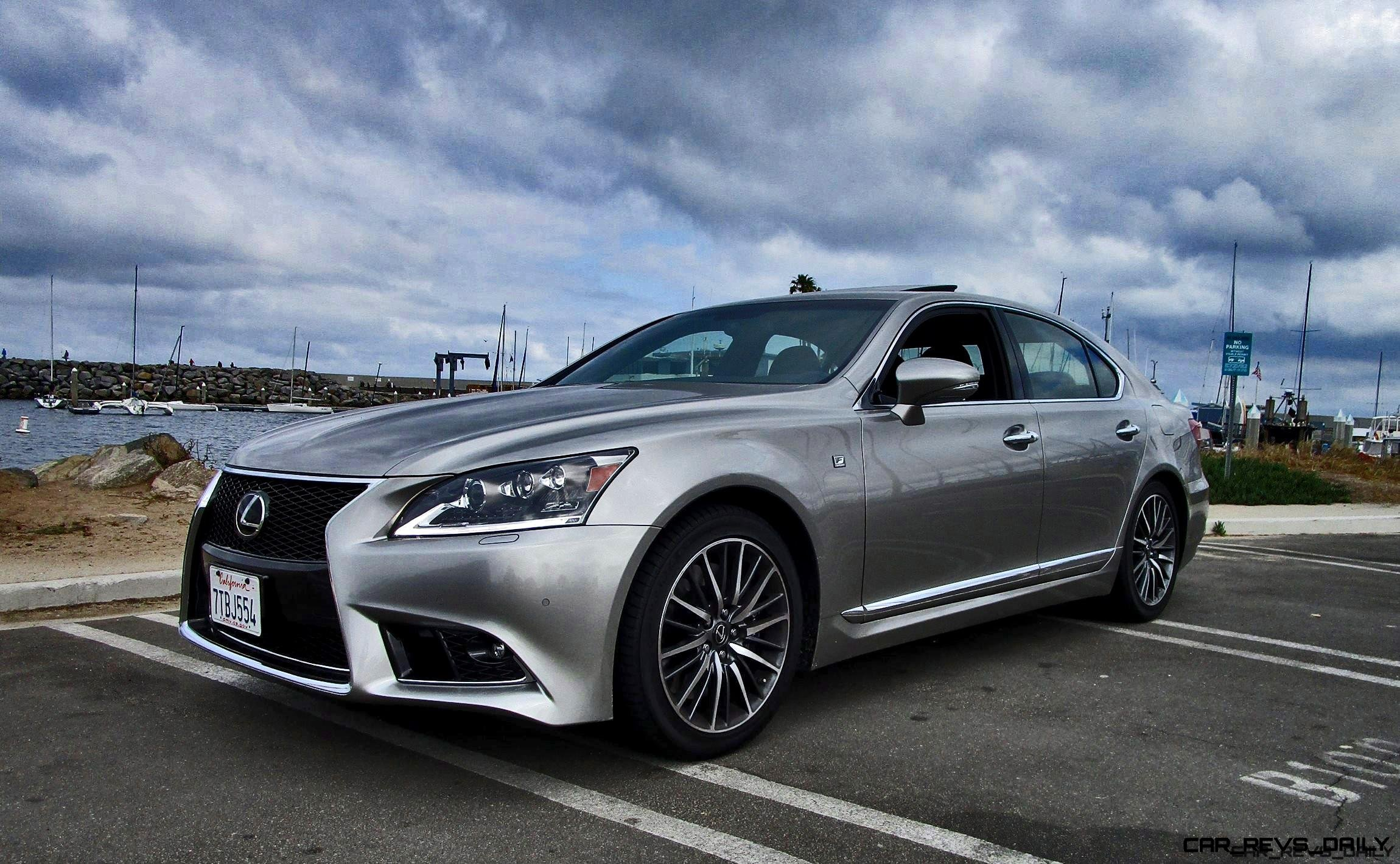 2017 Lexus Ls460 F Sport Road Test Review By Ben Lewis