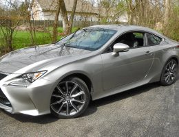 "2017 Lexus RC350 RWD – Road Test Review – By Ken ""Hawkeye"" Glassman"