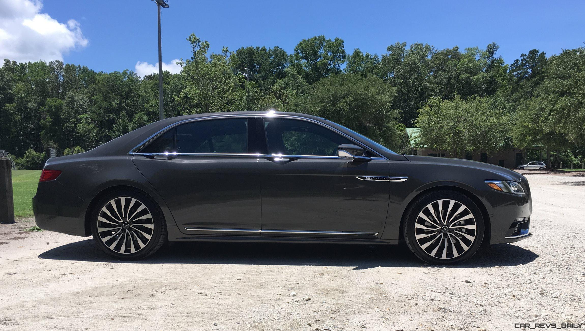 2017 Lincoln Continental 3 0t Awd Black