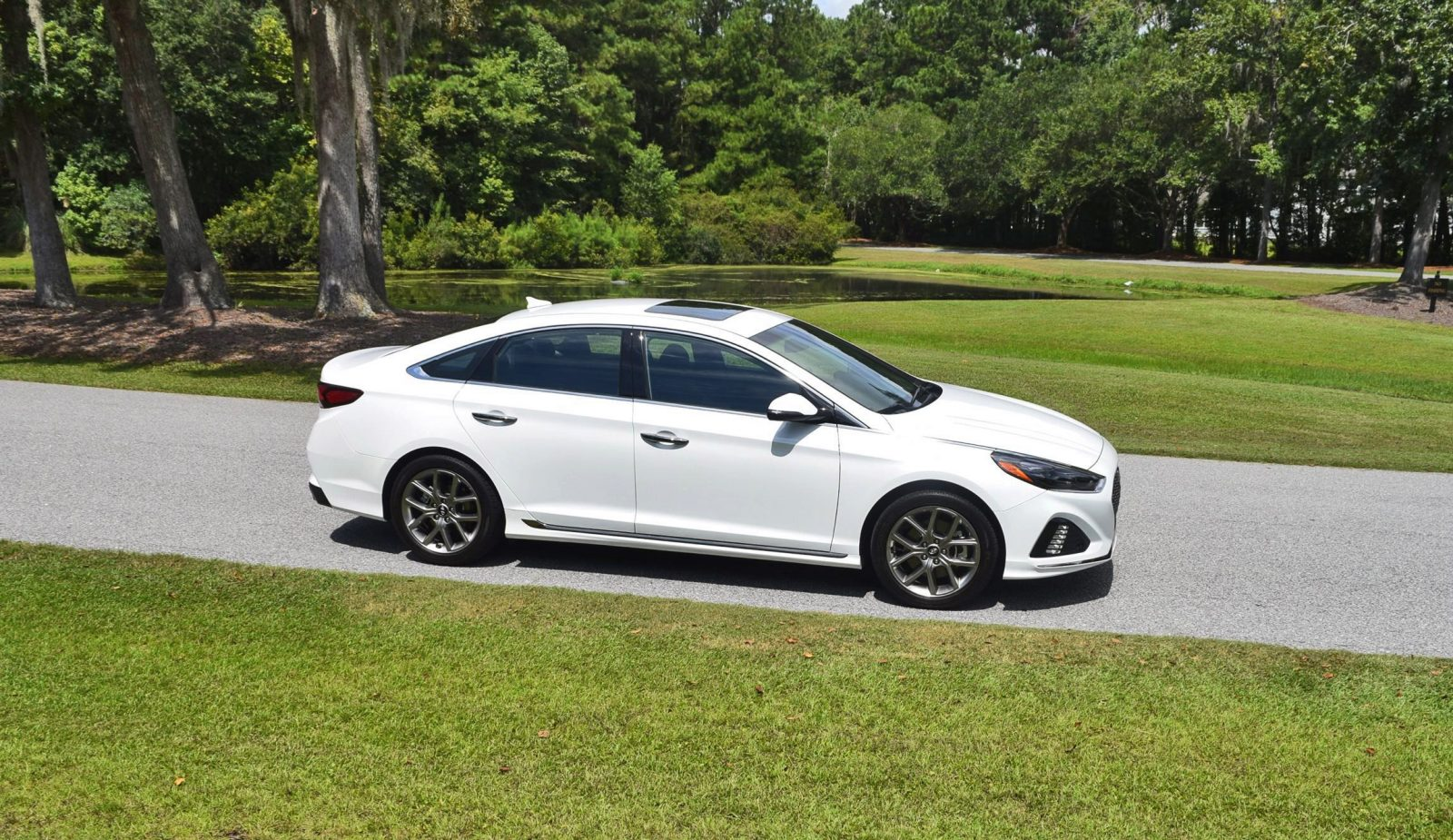 2018 hyundai sonata 2 0t first drive review w video. Black Bedroom Furniture Sets. Home Design Ideas