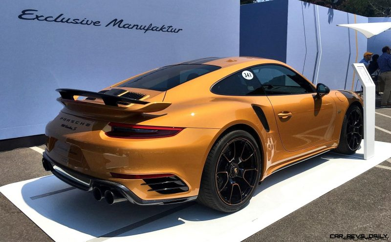 Werkswagen 28s 205mph 2018 Porsche 911 Turbo S Exclusive Series