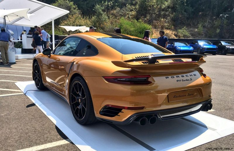 2018 Porsche 911 Turbo S Exclusive Series 19