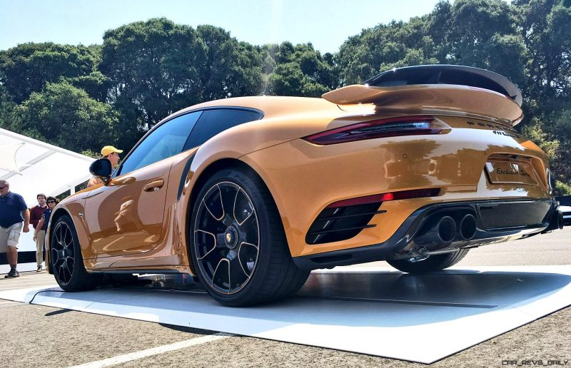 2018 Porsche 911 Turbo S Exclusive Series 20