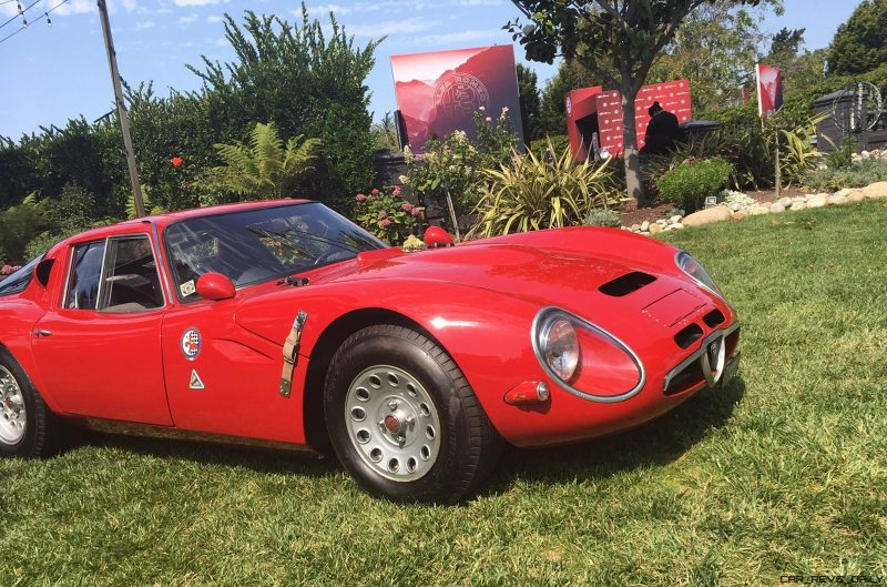 ALFA-ROMEO - Monterey Car Week 2017 18