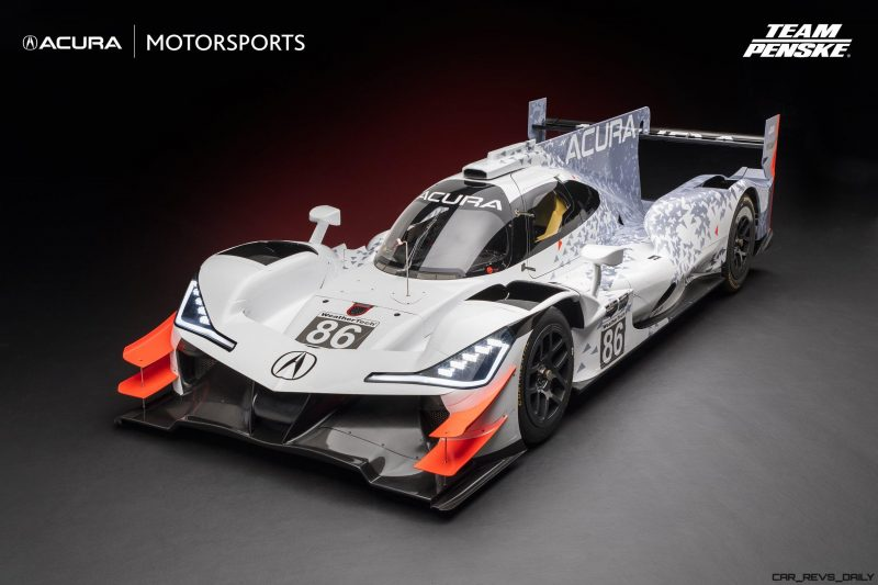 Acura ARX-05 DPi Race Car