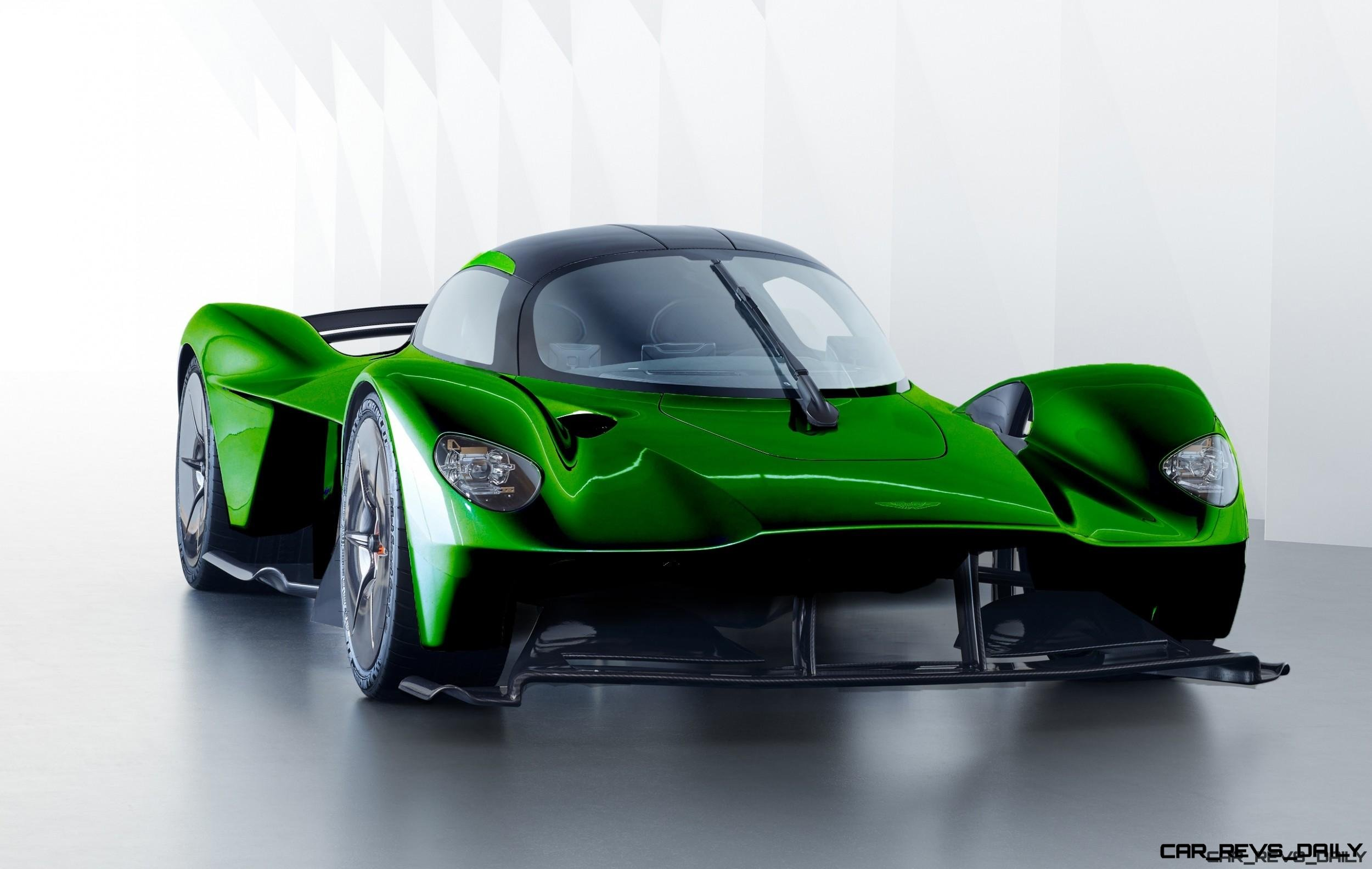 6 Ways The 2019 Aston Martin Valkyrie Is Next Gen Bonkers