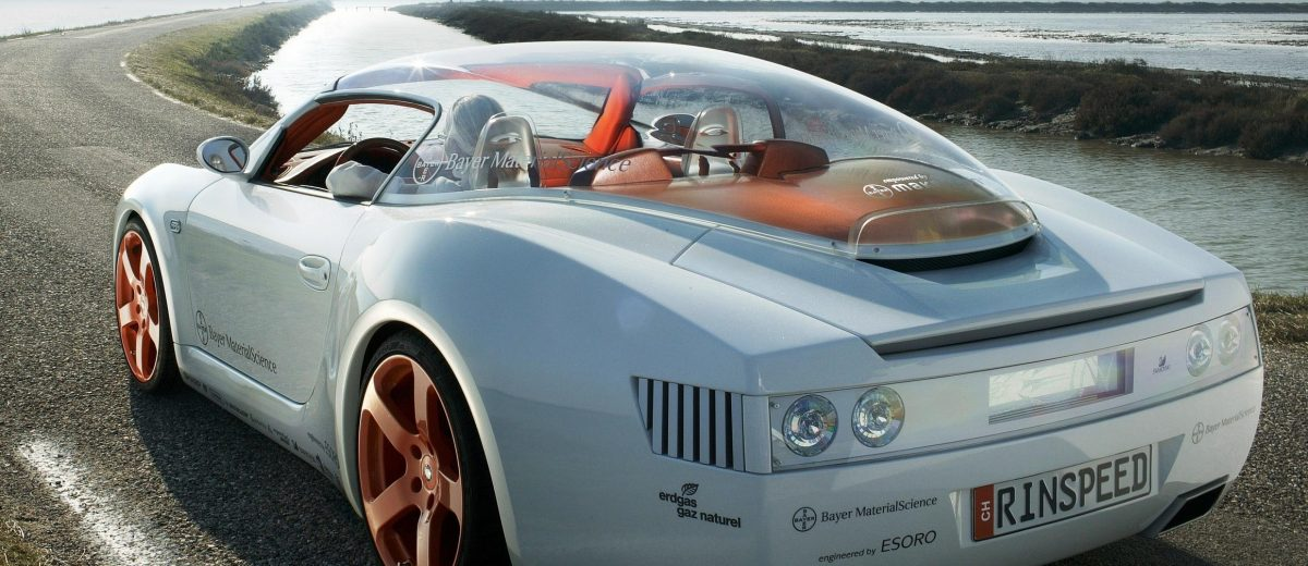 Concept Flashback - 2006 RINSPEED ZaZen is Porsche 911 with Clear Bubble Hardtop 5