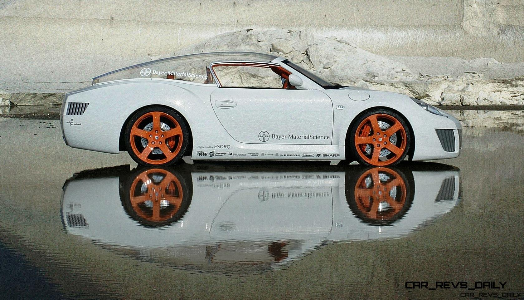 Concept Flashback   2006 RINSPEED ZaZen Is Porsche 911 With Clear Bubble  Hardtop 50 ...