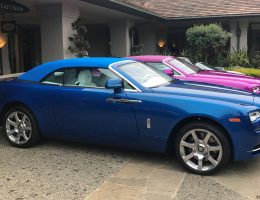2017 Rolls-Royce DAWN in FUXIA Celebrates Michael Fux