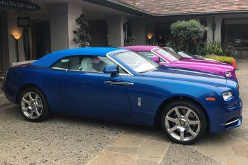 2017 Rolls-Royce DAWN in FUXIA Celebrates Michael Fux