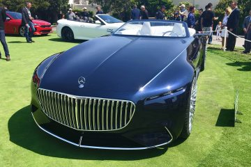 Updated w/ 33 Real-Life Photos – 2017 Vision Mercedes-Maybach 6 Cabriolet