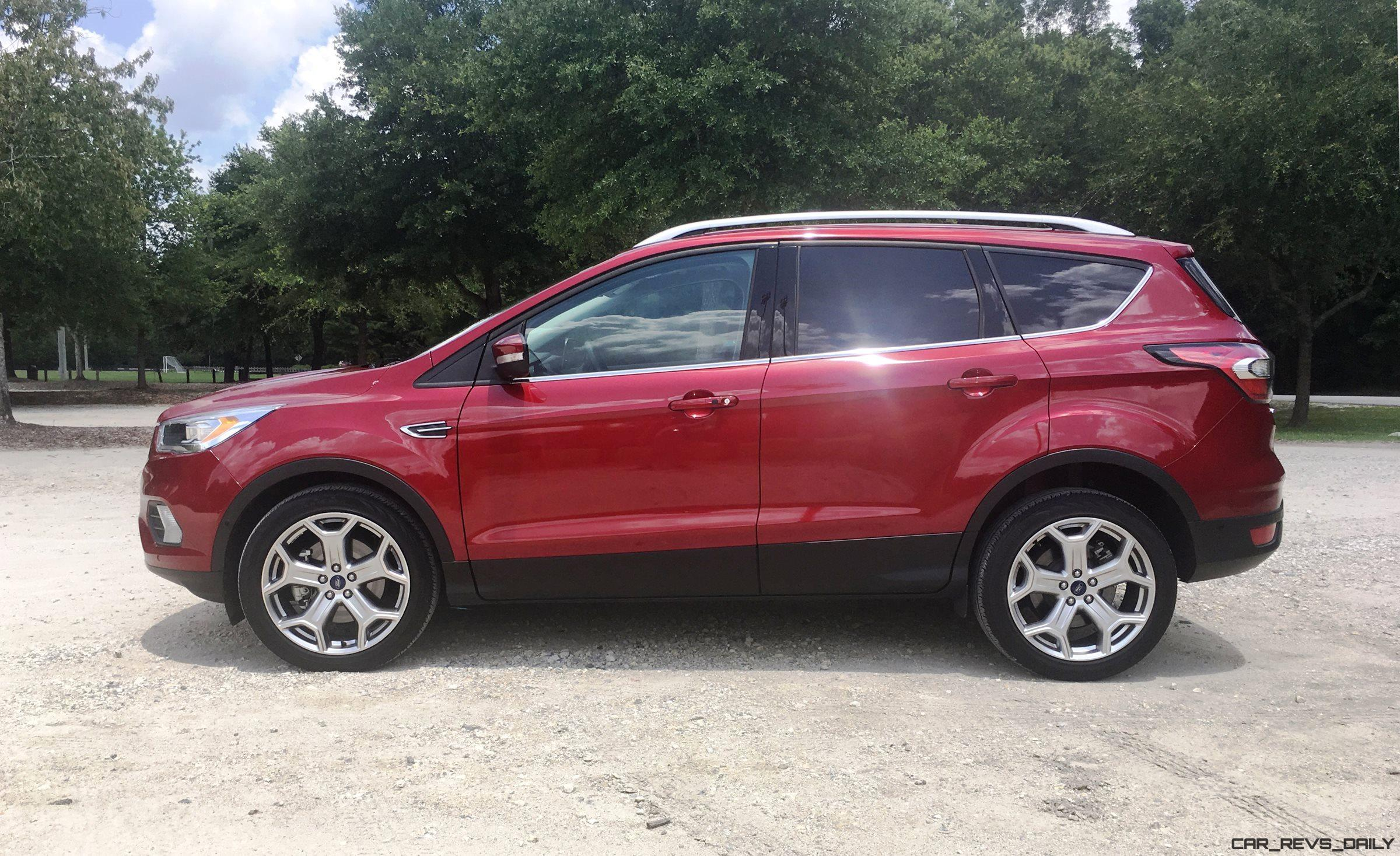 2017 ford escape titanium road test review. Black Bedroom Furniture Sets. Home Design Ideas