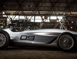 2017 INFINITI Prototype 9 Makes Retro Pebble Beach Debut