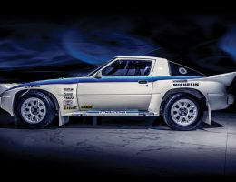 1985 Mazda RX-7 Evo Group B Works Rally Car – RM London 2017
