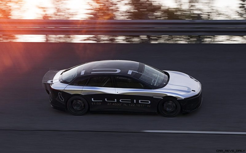 Lucid Air Alpha Speed Car 01