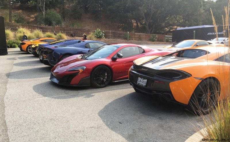 MCLAREN MADNESS - 2017 Pebble Beach VIP Villa 45